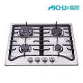 201 Stainless Steel Brushed Hob Gas Cooker