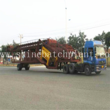 Big Volume Mobile Concrete Batch Plant Cost