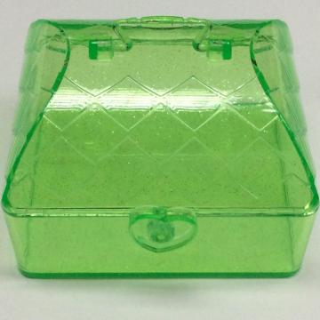 Plastic house shaped storage box