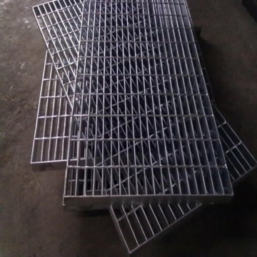 Outdoor Steel Grating Stair Treads
