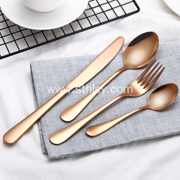 High-end Creative Stainless Steel Flatware Set