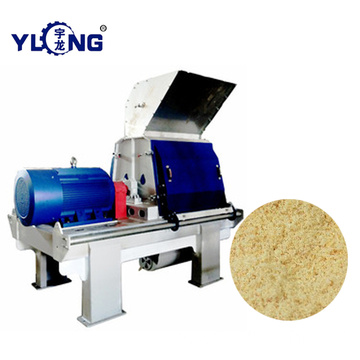 Mulberry chips hammer mill
