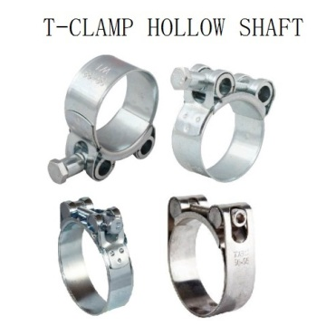 T-bolt Clamps with Hollow Shaft