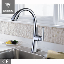 Good Quality for Chrome Finished Kitchen Faucet Single Handle Kitchen Faucet with Pull Out Spray supply to France Factories