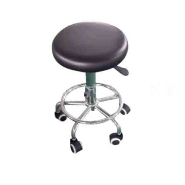 Stool round retractable seat