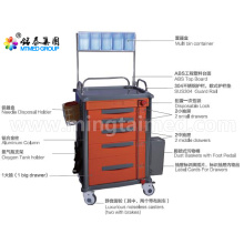 Hospital anesthetic vehicles cart
