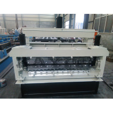 Factory Price for Two Profile Machine PPGI and GI Double Layer Roll Forming Machine export to Palestine Factories