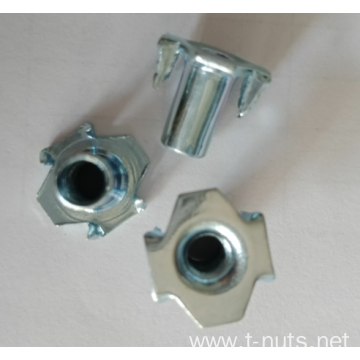 ZN Furniture HOPPER FEED NOTCHED PRONG Tee Nuts