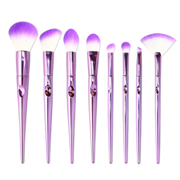 8 PCS Synthetic Cosmetics Makeup Brushes