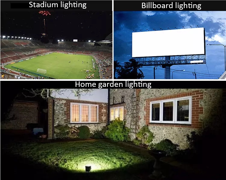 Flood Light Sizes