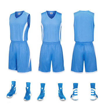 Jersey de basket-ball confortable 100% polyester pour match