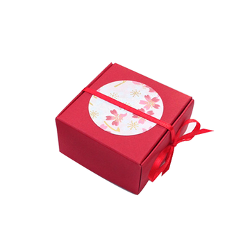 Custom Colorful Small Wedding Candy Packaging Box