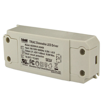Triac Dimming driver 20W 400ma 5year warranty
