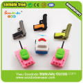 Excavator Truck Car Shaped Puzzle Crazy Erasers
