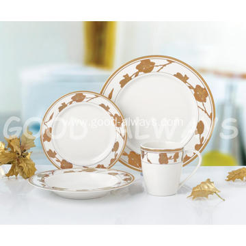Gold NEW Bone China dinner set