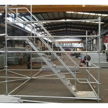 Ring Lock Scaffolding for Aircraft Maintenance