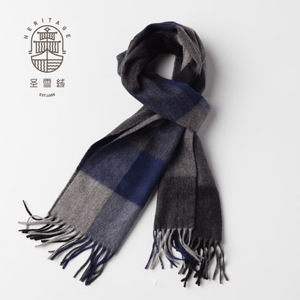 90% Wool 10% Cashmere Scarf