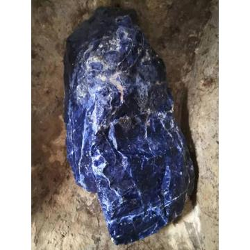 Blue sodalite small raw