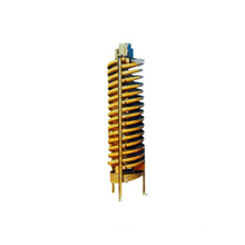 Light Weight Gravity Separator Gold Spiral Chute