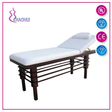 Factory best selling for China Portable Wood Massage Bed, Solid Wood Massage Bed manufacturer Wood facial bed used in beauty salon export to Armenia Supplier