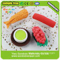 Sushi shaped eraser,novelty eraser products for school