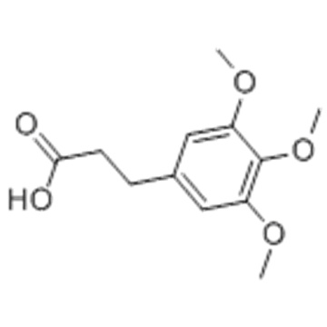 3- (3,4,5-TRIMETHOXYPHENYL) PROPIONIC ACID CAS 25173-72-2