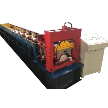 Metal roof ridge cap tile cold forming machine