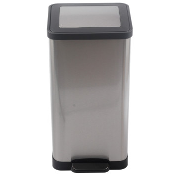 Stainless Steel Step Trash Can