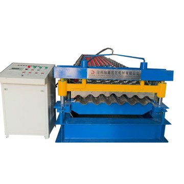 Metal Corrugated Tile Roll Forming Machine For Sale