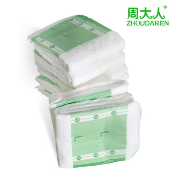 Disposable Diaper Ultra Thick Adult Diaper with Tabs