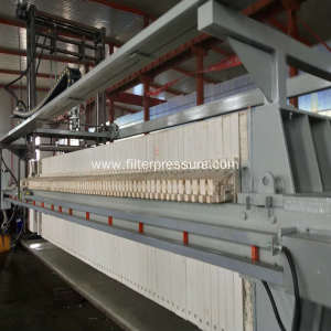 Automatic Programme Control Filter Press With Auto Washing