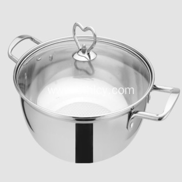 Stainless Steel Hot Pot Induction Cooker Universal