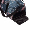 Latest Classic Fashion Colorful Floral Printed Women Travel Sport Duffel Bag