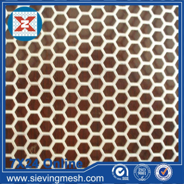 Hexagonal Hole Perforated Mesh