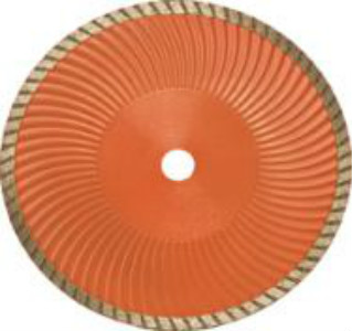 Sinter hot-pressed turbo blade with wave core