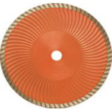 Sintered Turbo Blade with Wave Core