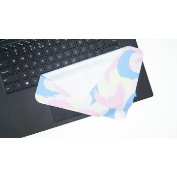 newest promotional non slip microfiber mouse pad cloth