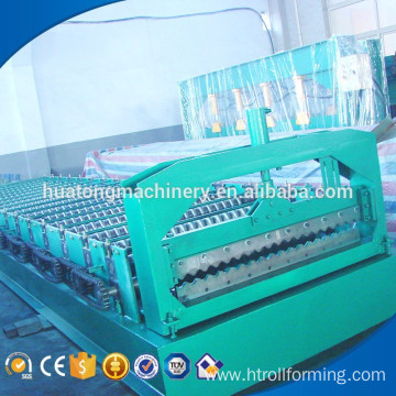 Low price customized width corrugated forming machine