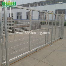 PVC Coated Galvanized Welded Sliding Gates Fence Gate
