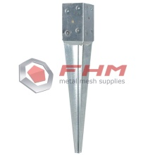 Galvanized Spike Anchor of Square Post