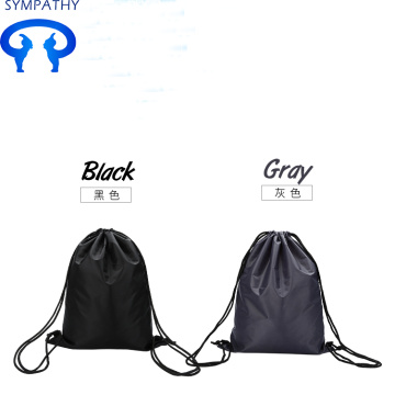 Custom sports waterproof drawing cord backpack for students