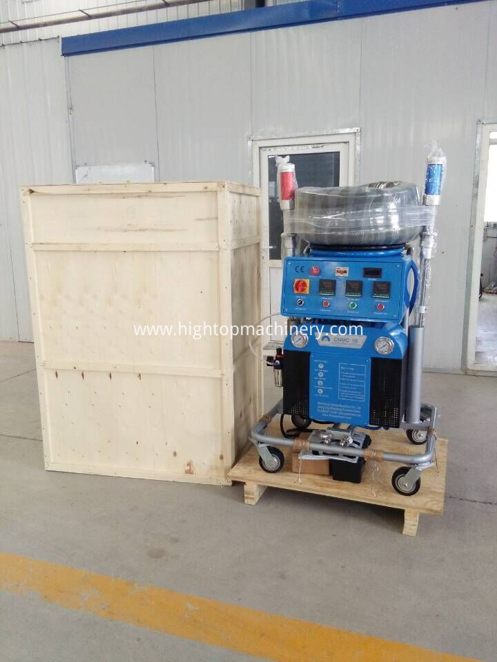 pu spray machine