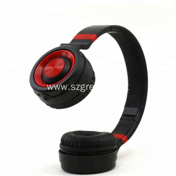Glossy Portable Wireless Headset Bluetooth Headphone