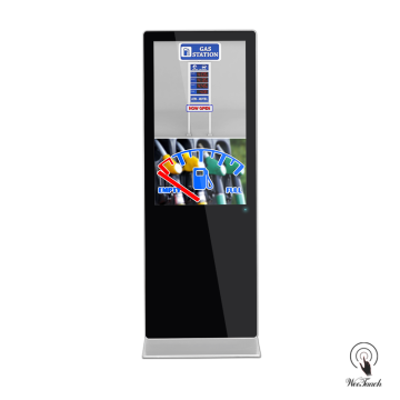 65 Inch Digital Poster Platform For Gas Station