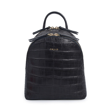 Nancy Gonzalez Bag Medium Black Crocodile Leather Backpack