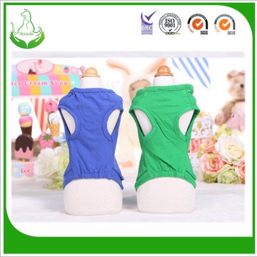 Wholesale Summer organic Cotton dog Clothes