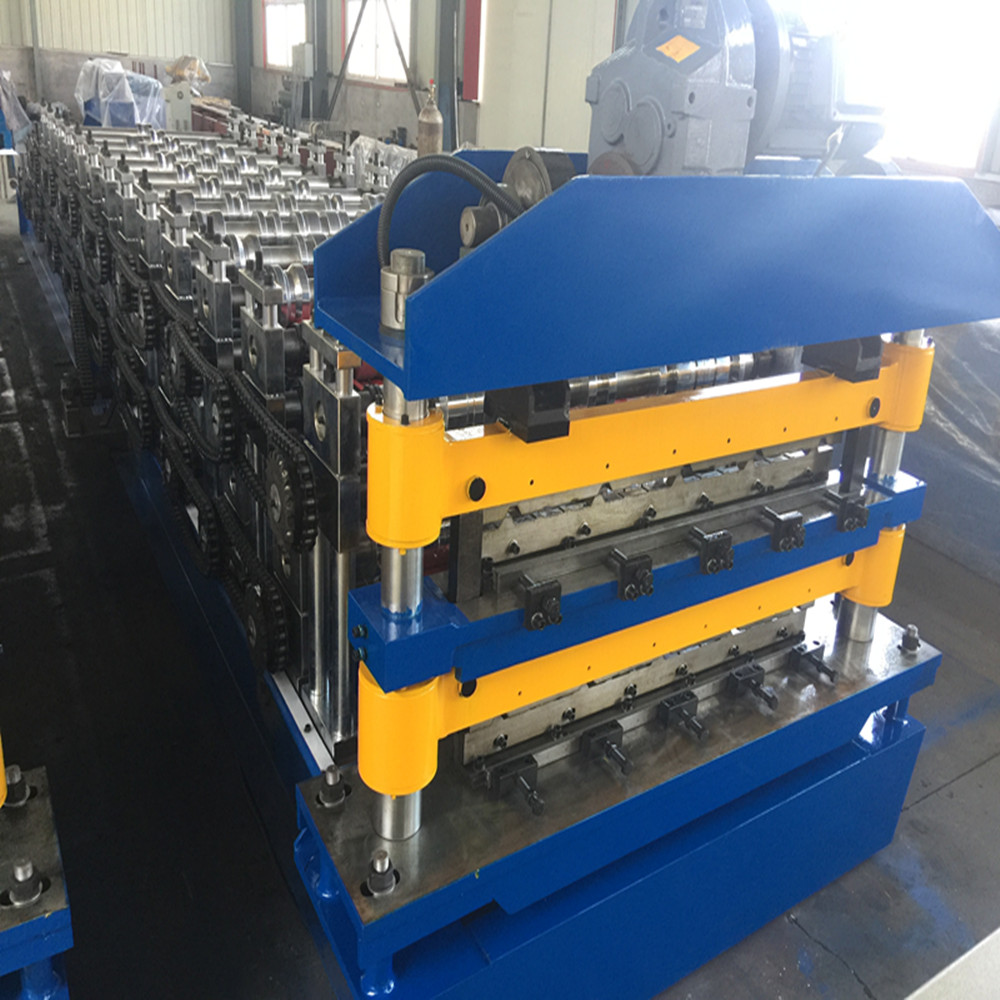 Double Roof Steel Production Line China Manufacturer