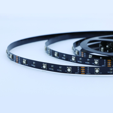 IP65 smd5050 30leds/m Black PCB led strip lighting