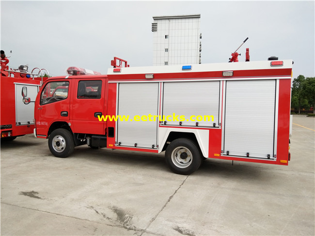 4m3 Used Fire Fighting Trucks