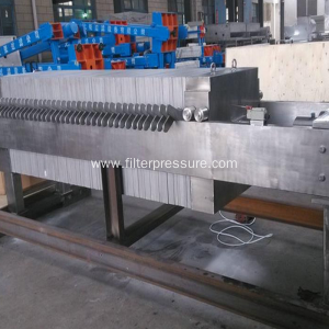 High Temperature Filter Press For Medically